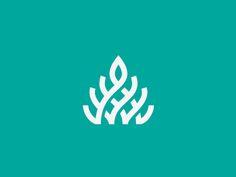 Plants logo design inspiration 22 ideas for 2019 Type Logo, 2 Logo, Typography Logo, Graphic Design Typography, Logo Branding, Gfx Design, Logo Desing, Brand Identity Design, Branding Design