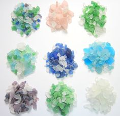 Beach Decor Sea Glass - 2 lb. Beach Glass,  Lots of Colors -  2 POUNDS, Recycled on Etsy, $18.00