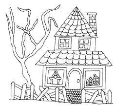 haunted house pictures 28 haunted house coloring pages haunted house coloring 7