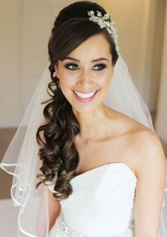 20 Best Curly Wedding Hairstyles Ideas Princess hairstyles