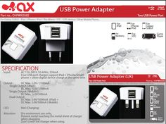 Home Power Charger with 2 USB Ports Ipod, Phone, Galaxy S2, Tech Accessories, Blackberry, Charger, Usb, Telephone, Blackberries