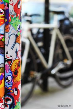 Cartoon Bunny Bike Photo by kempspace photography -- National Geographic Your Shot
