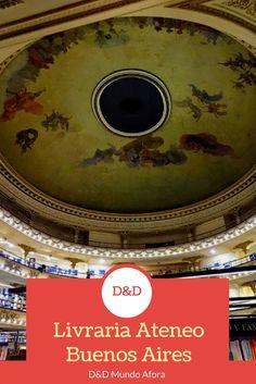 Livraria Ateneo, Buenos Aires - Argentina