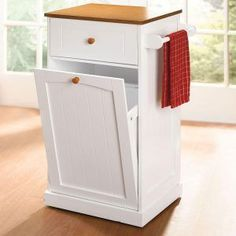 Wood Trash Bin Recycling Storage Solid Pine Garbage Can For The Home By Jacqueline Bolda Pinterest Bins Custom Design And