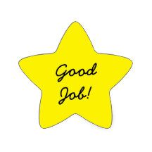 Good Job Star Sticker Kinds Of Shapes, Welcome To The Group, Star Stickers, Good Job, Quotes For Kids, Classroom Decor, Teaching Kids, Compliments, Congratulations
