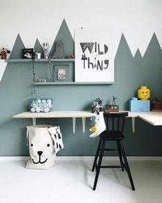 Descubre cuáles son los colores fríos y cómo puedes decorar habitaciones infantiles con ellos. #decoracionhabitacion