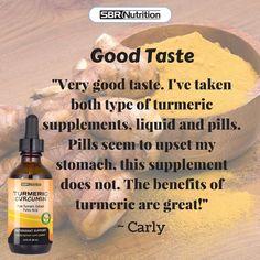 Liquid Turmeric from www.sbrnutrition.com