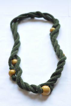 náhrdelník z dutinky