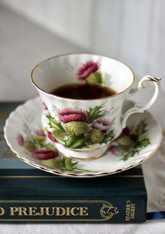 "comtesse-du-chocolat: "" A Thistle Tea with Pride & Prejudice… Happy…"