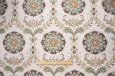Mill Creek Barossa - Madden Printed Cotton Decorator Fabric in Nordic Ice $23.95 per yard