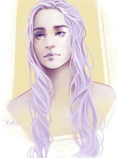 #daenerys #digitaldrawing #fanart #fantasy #gameofthrones #portrait #unburnt #targaryean #gameofthronesfanart #targaryenhouse #targaryendaenerys