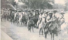 Tropas de Pancho Villa (Villistas) Culiacan Sinaloa Revolución Mexicana