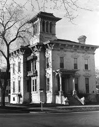 Rush R. Sloane House, Sandusky, Ohio - used in the underground railroad