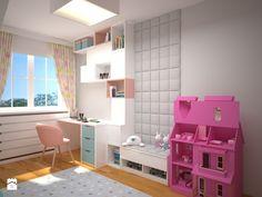 Pokój dla 5 letniej dziewczynki - zdjęcie od ZAWICKA-ID Projektowanie wnętrz