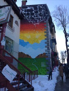 Montreal, Street Art, Fair Grounds, Fun, Painting, Travel, Viajes, Painting Art, Paintings
