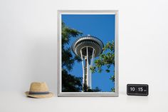 Symbol of Seattle - Space Needle by Anovva on Etsy