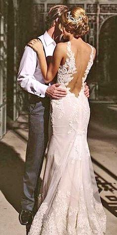 18 Real Brides In Ines Di Santo Wedding Dresses ❤ See more: http://www.weddingforward.com/ines-di-santo-wedding-dresses/ #wedding #dresses