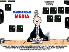 MAINSTREAM MEDIA | May/02/14 Political Cartoons by Bob Gorrell
