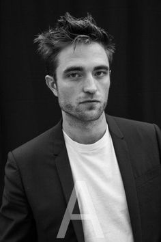 Portrait Of Robert Pattinson From Cannes by Victoria Stevens
