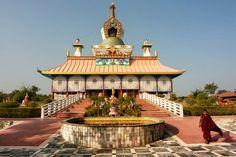 Lumbini,Buddhist Temple,Nepal