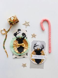 DIY holiday gift tags by Amanda Rydell for Maggie Holmes design team