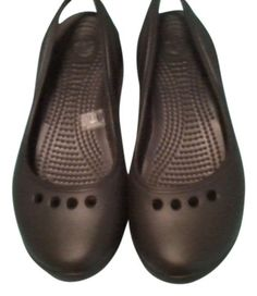 Crocs Black New Flats. Get the must-have flats of this season! These Crocs Black New Flats are a top 10 member favorite on Tradesy. Save on yours before they're sold out!
