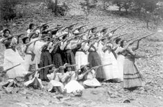 The Mexican Revolution was characterized by several socialist, liberal, anarchist, populist, and agrarian movements. These women were soldiers of the Revolution.