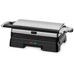 Cuisinart Silver Griddler Grill  Panini Press ($70) ❤ liked on Polyvore featuring home, kitchen & dining, small appliances, silver, cuisinart panini grill, cuisinart, steak grill, cuisinart grill and cuisinart panini press