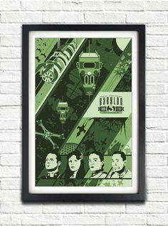 Babylon 5  Season THREE  2260  17x11 Poster by bensmind on Etsy