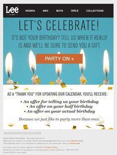 Boden USA birthday email 2015 | Email - Auto/Birthday | Pinterest ...