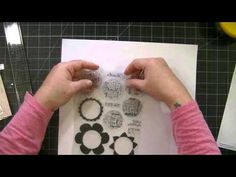 Kat's Scrappy, Bloggy Life — How to Create Larger/Custom Stamp Pockets/Sleeves for Storage