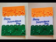 DIY// Independence day special greeting card making,handmade greeting card for independence day Independence Day Drawing, Independence Day Theme, Independence Day Activities, Independence Day Greeting Cards, Independence Day Decoration, Independence Day Special, Handmade Greetings, Greeting Cards Handmade, Paper Flowers Craft