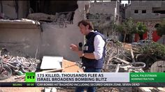 Fatal Edge: Over 180 Palestinians killed, thousands flee as Israel broadens bombing blitz