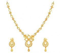 Gold Necklaces online for women, explore styles, find the necklace for you. Gold Necklace Simple, Necklace Set, Jewelry Sets, India Jewelry, Jewelry Stores, Fine Jewelry, Gold Value, Gold Chain With Pendant, Golden Jewelry