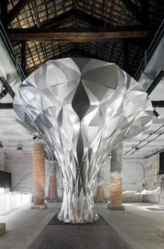 The Arum Shell, Biennale di Venezia 2012, by Zaha Hadid-Woody Yao