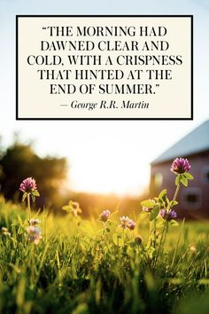 24 Quotes to Quell the End-of-Summer Blues