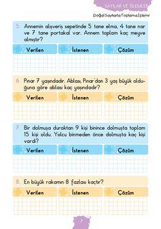 1. Sınıf Konu Anlatım MATEMATİK FASİKÜLLERİ
