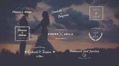 Wedding Titles (Special Events) #Envato #Videohive #aftereffects