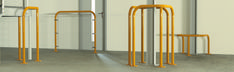 Our safety barriers have a wide range of applications. Widely used for racking protection, plant and machinery or in areas where there is a likelihood of accidental damage by moving vehicles. They can be used in trolley bays and also as pedestrian protection. #safetybarriers #safety #safetyfirst #protection #fhb #fhbrundle