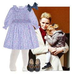 HRH Princess Gabrielle of Borduria by kingdomofborduria on Polyvore featuring polyvore fashion style Falke clothing