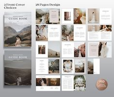Wedding Photography Magazine Template for Photographers, Welcome Package Marketing Bridal Guide Template, PSD Photographer Welcome Guide Photography Business, Modern Photography, Photography Brochure, Photography Studios, Photography Guide, Wedding Photography Marketing, Outdoor Wedding Photography, Wedding Photography Styles, Photography Portraits