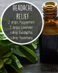 I suffer frequently from several types of headaches — migraines, sinus, and tension. When I'm struggling with any of those, these are my favorite oils to have going in the diffuser. Add this essential oil blend to your diffuser (you can also mix it with a Essential Oil Diffuser Blends, Essential Oil Uses, Natural Essential Oils, Migraine Essential Oil Blend, Essential Oils For Headaches, Mixing Essential Oils, Essential Oil Carrier Oils, Essential Oils Autism, Essential Oil Recipies