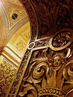 gold detailing