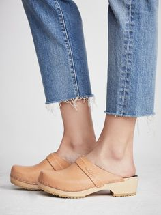 Swedish Hasbeens Husband Clog at Free People Clothing Boutique