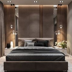 40 If You Read Nothing Else Today, Read This Report on Luxury Taupe Grey Bedroom Decor - decoruntold Grey Bedroom Decor, Trendy Bedroom, Home Bedroom, Luxury Bedroom Design, Master Bedroom Design, Bedroom Layouts, Suites, Contemporary Bedroom, Bedroom Modern
