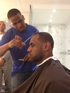 Lebron James Takes Some Off The Top