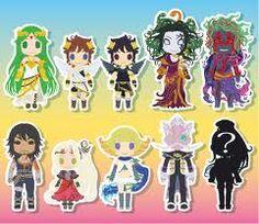 Kid Icarus Uprising Pandora Kids Nintendo Characters Games News For Video Game Chibi Ice Cream Children