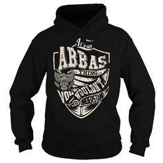 Its an ABBAS Thing (Eagle) - Last Name, Surname T-Shirt