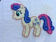 Bon Bon or Sweetie Drops - My Little Pony Friendship is Magic perler beads by PrettyPixelations
