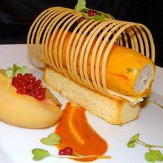 Corn Fed Chicken in Saffron jelly